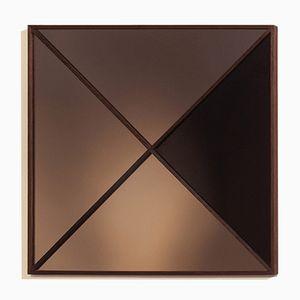 Geometrischer Viereckiger Moderner Wandspiegel von Nina Cho