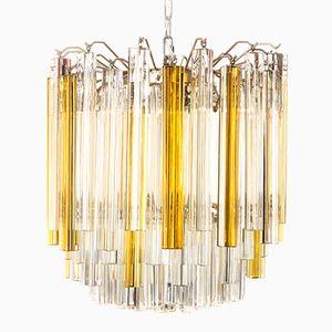 Triedi Murano Glass Chandelier by Paolo Venini, 1960s