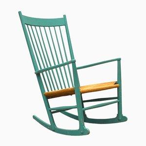 Danish JH16 Rocking Chair by Hans Wegner for FDB Møbler, 1960s