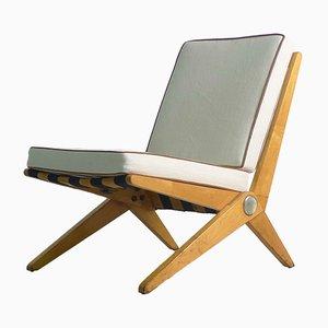 Scissor Stuhl von Pierre Jeanneret für Knoll Inc. / Knoll International, 1960er