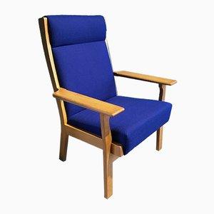 Vintage GE 181 A Lounge Chair by Hans J. Wegner for Getama