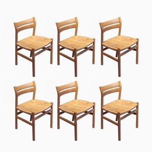 Vintage BM1 Esszimmerstühle von Børge Mogensen für C.M. Madsen, 6er Set