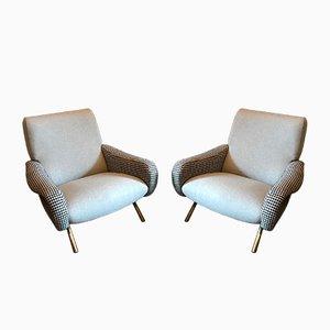Sedie Lady di Marco Zanuso per Arflex, anni '50, set di 2