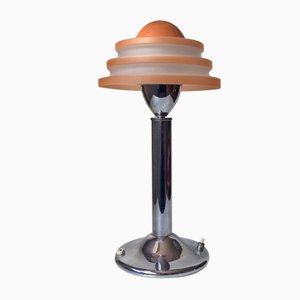 Dänische Art Déco Tischlampe des Modells Fried Egg Table von Fog & Mørup, 1930er