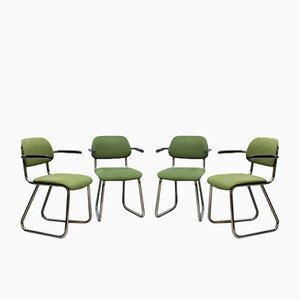 Sedie da ufficio 212 vintage di Gispen, set di 4