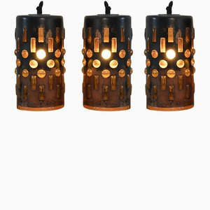 Hanging Pendant Lamps by Nanny Still for Raak Amsterdam, 1965, Set of 3