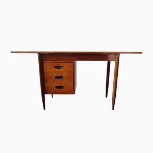 Small Teak Veneer Desk, 1960s