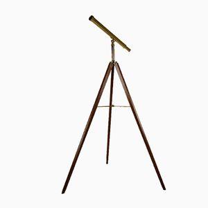 Vintage Brass Telescope from Van Cort