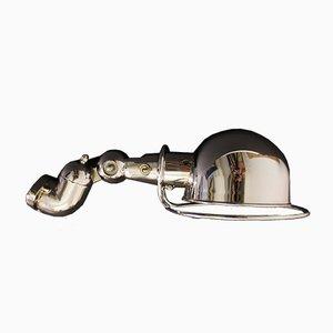 Verchromte Wandlampe von Jean-Louis Domecq für Jieldé, 1950er