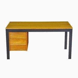 Mid-Century Danish Teak Veneered Desk