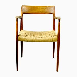 Mod. 57 Teak Armchair by Niels Otto Möller for J. L Mollers, 1960s