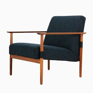 Cherrywood Easy Chair, 1960s