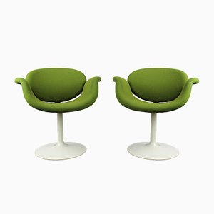 Little Tulip Chairs by Pierre Paulin for Artifort, 1963, Set of 2