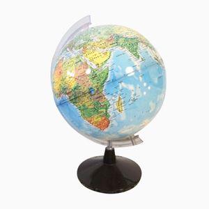 Vintage Illuminated Globe, 1970s