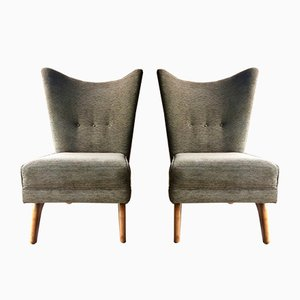 Encore Cocktail Chairs by Howard Keith, 1950s, Set of 2