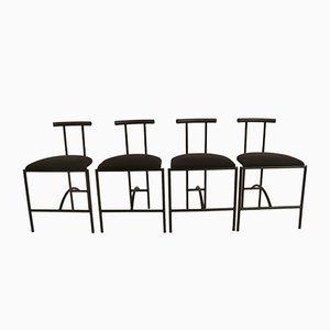 Tokyo Chairs by Rodney Kinsman for Bieffeplast, 1985, Set of 4