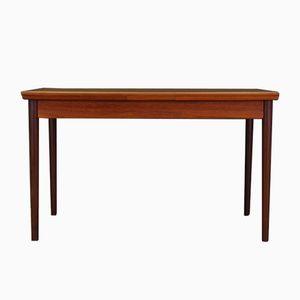 Vintage Danish Modern Teak Veneer Table