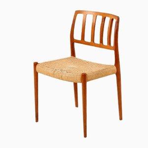 Vintage Model 82 Teak Chair by Niels O. Møller