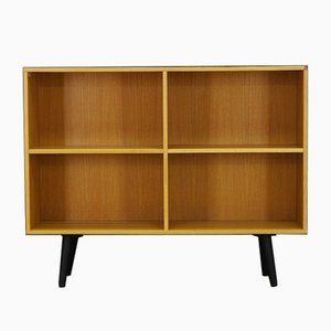 Vintage Danish Ash Veneer Shelving Unit from System B8 Møbler
