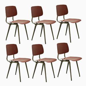 Revolt Stühle von Friso Kramer für Ahrend De Cirkel, 1954, 6er Set