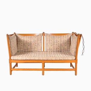 Danish Spoke-Back Sofa by Børge Mogensen for Fritz Hansen, 1963