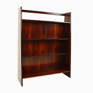 Mid-Century Rosewood Floor Standing 4 Tier Bookcase