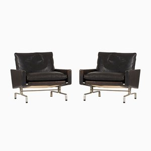 PK 31 Lounge Chairs by Poul Kjærholm for E. Kold Christensen, 1960s, Set of 2