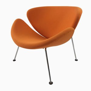 Vintage Orange Slice Lounge Chair by Pierre Paulin for Artifort