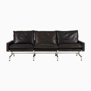 PK 31 3-Seater Leather Sofa by Poul Kjaerholm for E. Kold Christensen