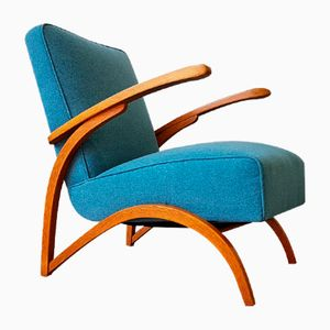 Armchair by Jindrich Halabala for Thonet, 1930s