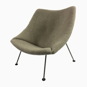 Vintage Oyster Easy Chair by Pierre Paulin for Artifort, 1960s