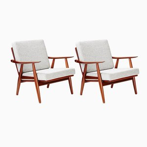 GE-270 Chairs by Hans Wegner for Getama, 1956