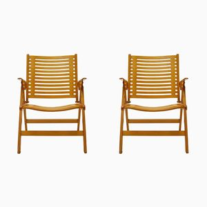 Rex Foldable Armchairs by Niko Kralj for Stol Kamnik, 1960s, Set of 2