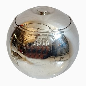 Spherical Ice Bucket in Chrome, 1960s
