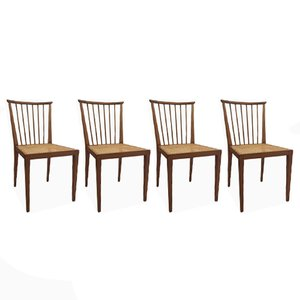 Austrian Dining Chairs from Hagenauer, 1950s, Set of 4