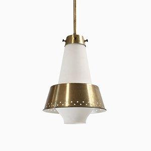 Large Pendant Lamp by Jonas Hidle for Høvik Verk, 1950s