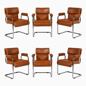 Mid-Century Italian Dining Chairs by Mariani, Set of 6