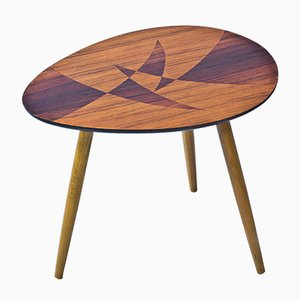 Swedish Inlay Table, 1950s
