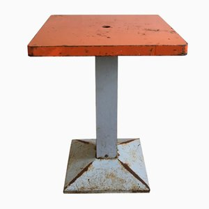 Bistro Table with Metal Base from Tolix, 1950s
