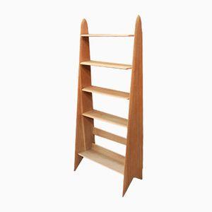 Mid-Century Solid Oak Shelf