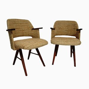 FT03 Esszimmerstühle von Cees Braakman für Pastoe, 1950er, 2er Set