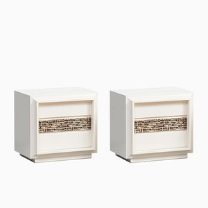 Nightstands by Luciano Frigerio, Set of 2