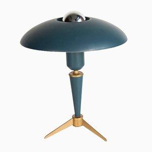 Mid-Century Dreifuß Tischlampe von Louis Kalff für Philips