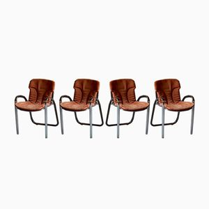 Armchairs from Cidue, 1970s, Set of 4
