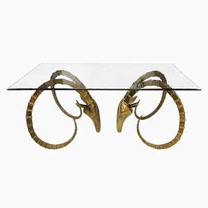 Skulpturaler Tisch von Alain Chervet, 1970er
