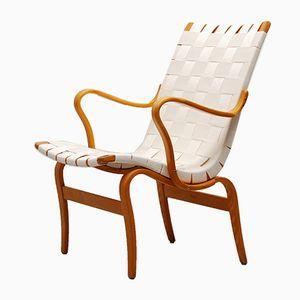 Eva Lounge Chair by Bruno Mathsson for Karl Mathsson, 1971