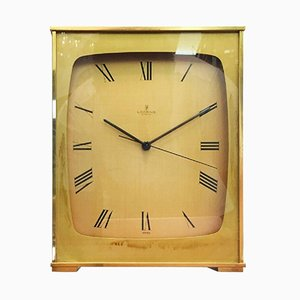 Vintage Brass Mantel Clock