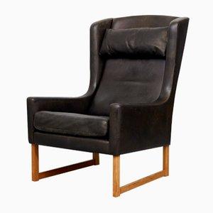 Vintage Wingback Chair by Rudolf B. Glatzel for Kill International