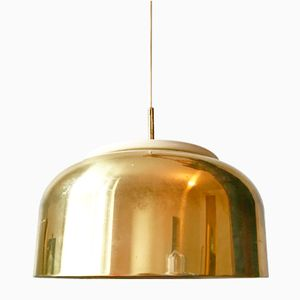 Swedish Knubbling Brass Pendant by Anders Pehrson for Ateljé Lyktan, 1970s