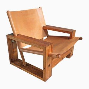 Vintage Dutch Easy Chair by Ate van Apeldoorn for Houtwerk Hattem, 1970s